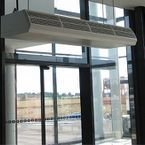 Optimal inside climate with CITY air curtain
