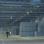 Even climate distribution in storage halls at Grolsch