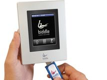 b-touch-Bedientableau von Biddle