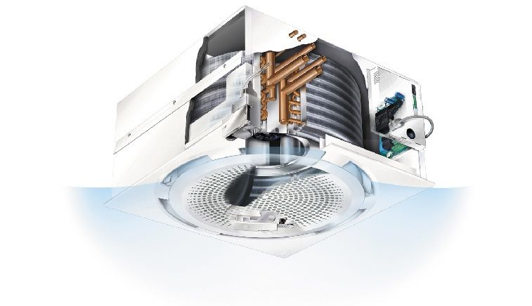 Circular discharge technology - cooling mode